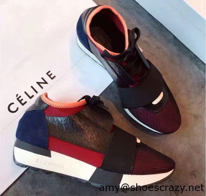 IMG 9069 cr1 700x666 - Balenciaga Multi-Materials Contrasted Race Runners 2017