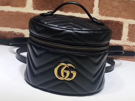 IMG 91216a 194 cr - Gucci GG Marmont Mini Backpack Bag 598594