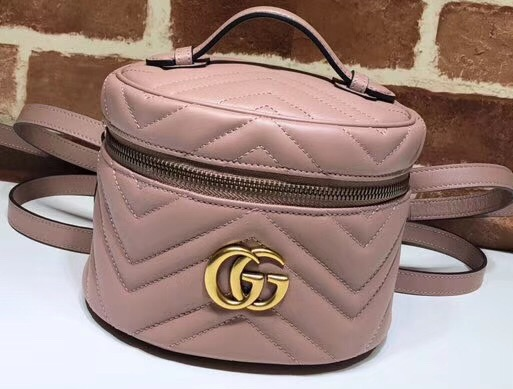 IMG 91216a 221 cr - Gucci GG Marmont Mini Backpack Bag 598594