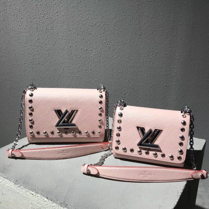 IMG 9138 1 700x700 - Louis Vuitton Studs And Eyelets Epi Leather Twist bag 2018