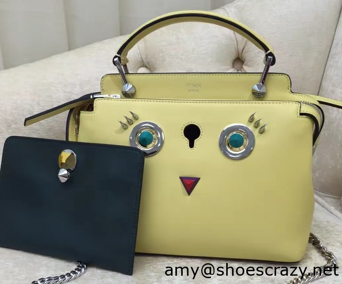 IMG 9421 cr1 700x581 - Fendi Multicolored Metal and Square Eyes Bag 2017