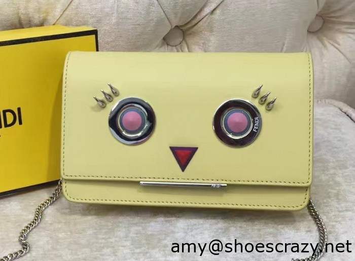 IMG 9446 cr1 700x515 - Fendi Multicolored Metal and Square Eyes Bag 2017