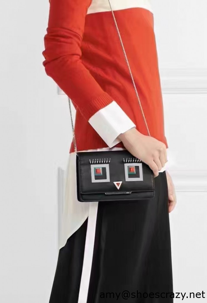 IMG 9461 700x1024 - Fendi Multicolored Metal and Square Eyes Bag 2017