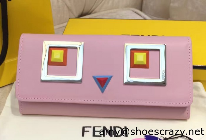 IMG 9475 cr1 700x476 - Fendi Multicolored Metal and Square Eyes Bag 2017