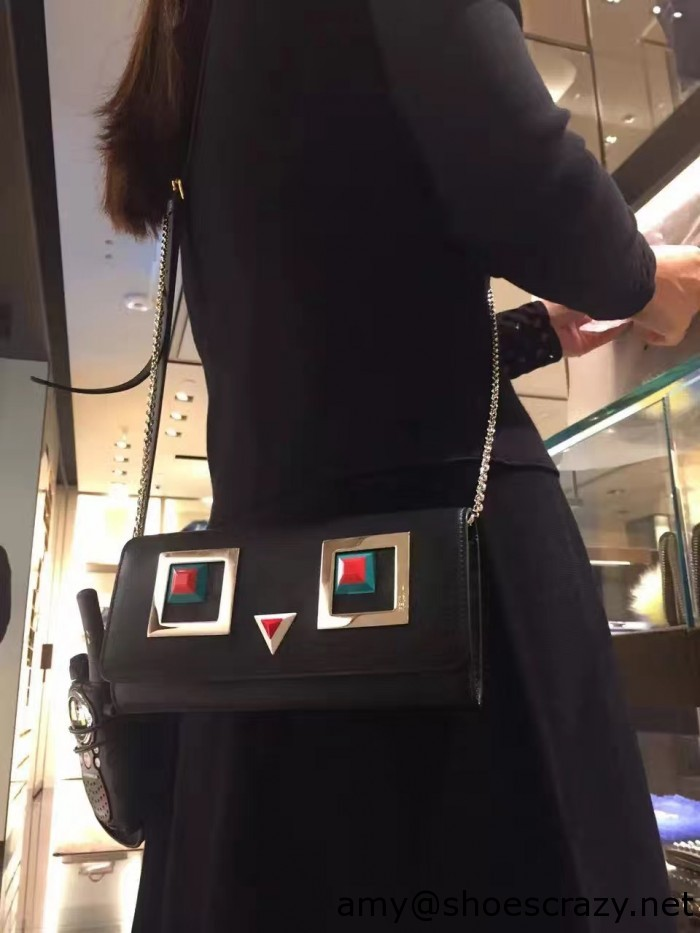 IMG 94931 700x933 - Fendi Multicolored Metal and Square Eyes Bag 2017