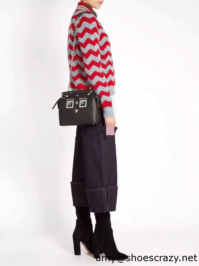 IMG 95391 700x933 - Fendi Multicolored Metal and Square Eyes Bag 2017