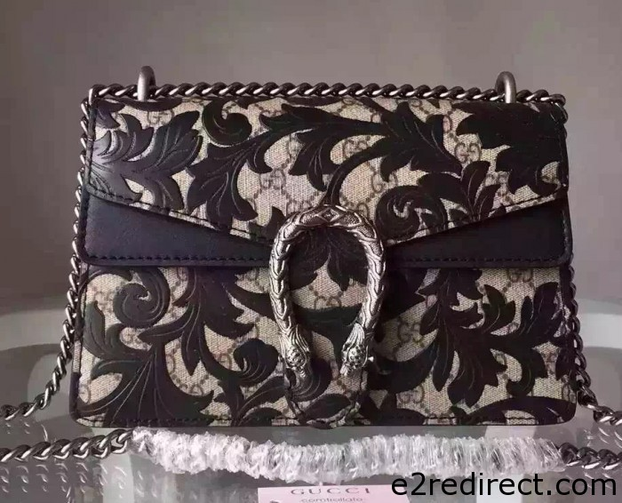 IMG 9811 cr 700x566 - Gucci Small Dionysus Arabesque Shoulder Bag 400249 2015/2016