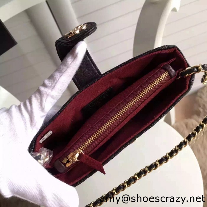 IMG 9912 700x700 - Chanel Wallet Phone Bag With a Long Chain
