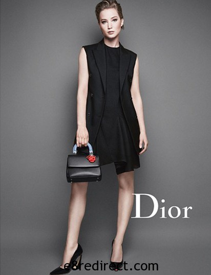 Jennifer Lawrence Be Dior Flap Bag 2 - Be Dior Flap Bag Cruise 2015 Collection