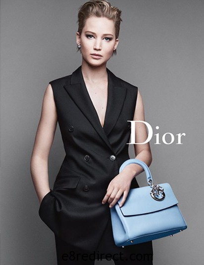 Jennifer Lawrence Be Dior Flap Bag 9 - Be Dior Flap Bag Cruise 2015 Collection