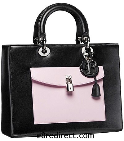 Lady Dior Tote with Front Pocket 4 - Replica Lady Dior Tote Bag with Pocket 2014