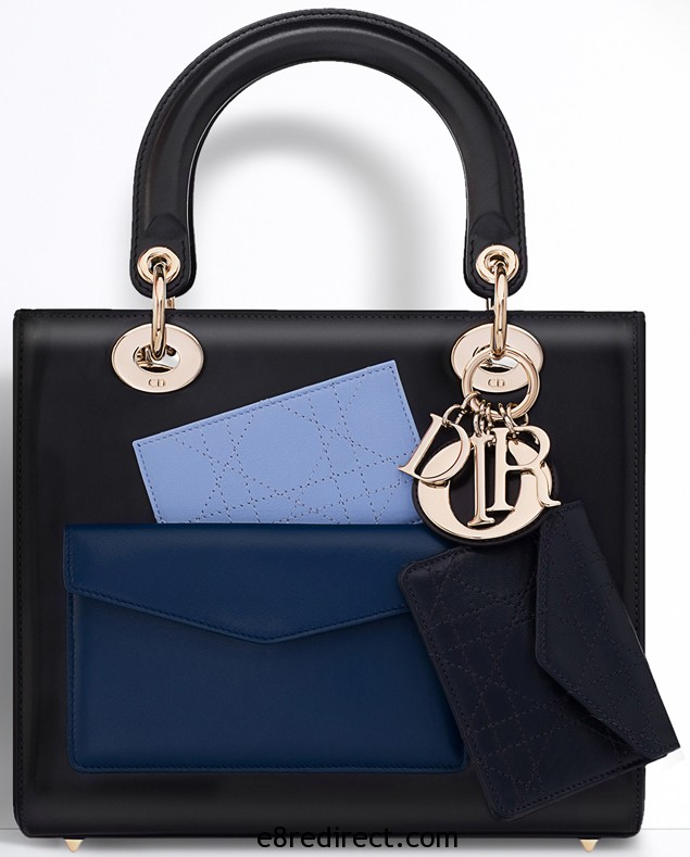 Lady Dior Tote with Front Pocket 8 - Replica Lady Dior Tote Bag with Pocket 2014