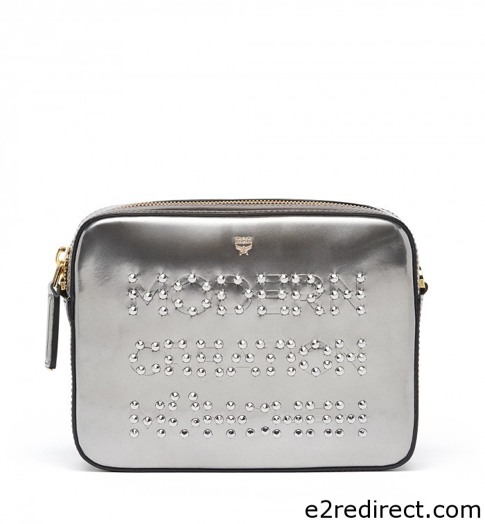 MCM Silver Studded Repro Crossbody Bag 700x757 - MCM Fall Winter 2016 Bag Collection