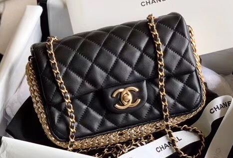 img 200525a 268  cr - Chanel Chain and Pearls Flap Mini Bag AS1740 2020